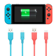 【2PCS】Charging Cable for Nintendo Switch and Switch Lite, Charger Type C (9.8ft)