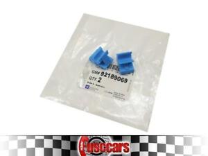 Holden VY VZ WK WL HSV Genuine Glove Box Hinge / Retainer Clips X2 - 92189069