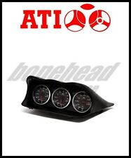 ATi Triple Meter Center Dash Gauge Hood Pod for 2002-2007 Subaru Impreza WRX STi