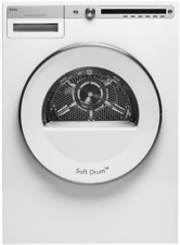 """Asko T411Vdw Logic Series 24"""" Vented Electric Dryer with Butterfly Drying"""