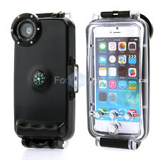Pro IPX8 Waterproof 130' Underwater Photograph Camera Phone Case for iPhone 6 6S