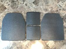 Body Armor Curved 10x12 & 6x6 Level 3 LINE-X Mil-Spec Certified Plate Spall Frag