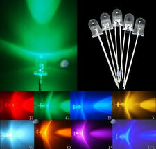5mm UltraBright red green blue yellow white orange purple LED 70pcs