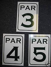 Vintage Style PAR 3 4 5 Metal Signs NEW