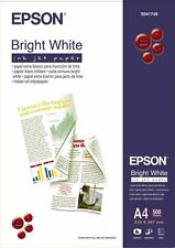 RAMETTE PAPIER EPSON A4 MAT PHOTO ULTRA BLANC 90g /m2 500F S041749 bright white