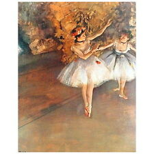 Edgar Degas, Two Dancers on the Stage Deco FRIDGE MAGNET, 1874 Fine Art Repro