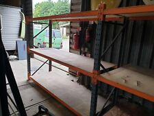 More details for heavy duty dexion speedlock warehouse racking workshop garage double bay. no vat