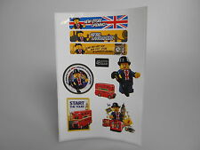 LEGO® Sticker für London Bus Set 40220 Neu Limited Edition