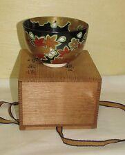 Fine Old or Antique Japanese Ceramic Tea Ceremony Bowl