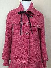 Chanel Tweed Coats Jackets Vests For Women Ebay
