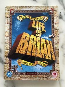 MONTY PYTHON LIFE OF BRIAN IMMACULATE EDITION 2 DISC BOX SET DVD 2007 New Rare!