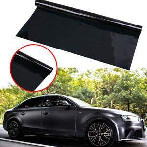 Black Car Roll Window Tint Shade Home Office Glass Film For VW Jetta Honda