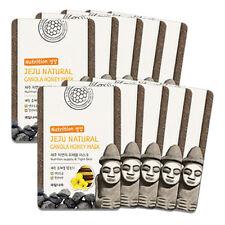 Welcos Jeju Natural Canola Honey Nutrition tight skin Mask 10pcs korea Cosmetic