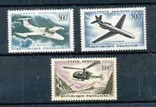 TIMBRE STAMP ZEGEL FRANCE  POSTE AERIENNE PA 35-37  X