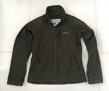 d0dde8e275b COLUMBIA Titanium Womens Size Small Dark Green Zip Jacket VGC