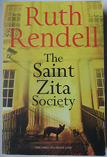 The Saint Zita Society By Ruth Rendell Paperback **Proof Copy**