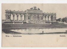 Wien Schoenbrunn Gloriette Austria Vintage U/B Postcard 260a