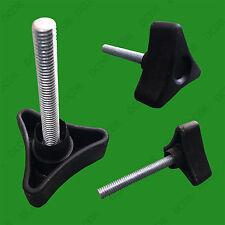 6x 35mm base triangolare, M6x40mm regolabile facile presa piede piedi di livellamento