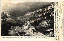 CPA  Saint-Hippolyte-sur-Doubs - Les Vieux Moulins et le Pré Taloche... (183645)