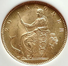 1873 Denmark King Ix Gold 20 Kroner Coin Ngc Certified Ms 64 I70331