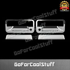 For 92-95 Chevy S10 S10 Blazer 2Drs Handle W/Psgkh Abs Chrome Covers