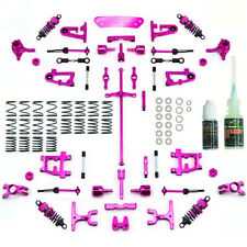 Yeah Racing Aluminium Conversion Kit Ultimate Version Pink Tamiya TT-01/ TT-01E