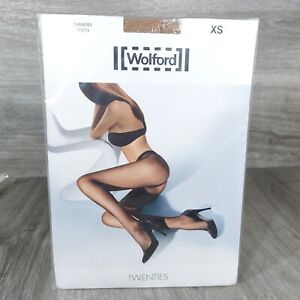 WOLFORD Tights Twenties Large 11889-4060 Honey Extra Small