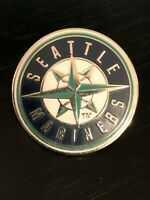 Vintage Collectible Seattle Mariners 2001 Colorful Metal Pinback Lapel Pin