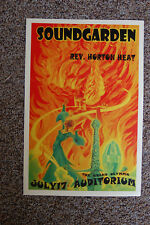 Soundgarden Concert Tour Poster 1994 The Grand Olympic Auditorium