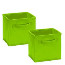 ClosetMaid ClosetMaid Cubeicals Fabric Drawer, (Set of 2) Spring Green ~ New