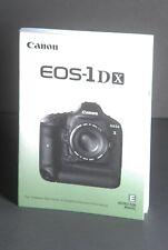 Canon Eos 1Dx Genuine Camera Instruction Book / Manual / User Guide