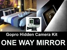 GOPRO 4 Hidden Camera Kit,Turn Your Gopro Into a Spy Camera One / Two Way Mirror