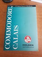 Holden VY Series 1 Commodore Calais Owners Manual #AU001