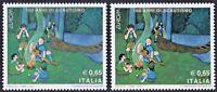 ITALIA 2007 EUROPA 2007 - 100 ANNI di SCAUTISMO - VARIETA' CERTIFICATA - RARITA'