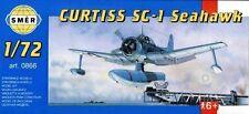 Curtiss SC-1 Seahawk Floatplane (1/72 model kit, Smer 0866)