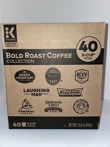 40 Keurig BOLD ROAST Coffee Collection Variety Pack K-Cup Pods