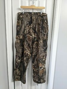 Men's Scent-lok Hunting Pants Size Large Brown Camouflage