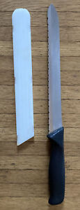 "PAMPERED CHEF SERRATED BREAD KNIFE 9"" BLADE RETIRED # 1285"