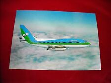 """Air Florida Boeing 737 Large  5""""x7"""" Color 1970's Photo Post Card """"MINT"""""""