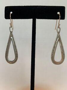 Silpada Sterling Silver Teardrop Earrings
