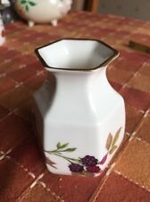 Royal Worcester Arden Bud Vase Bowl Posy Flower Pen Holder   3.5 Inches High
