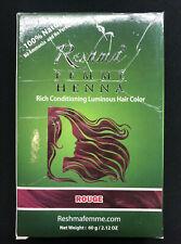 New Natural-Hair Color Rouge --Henna RESHMA Henna-100% Natural Sealed Free Ship