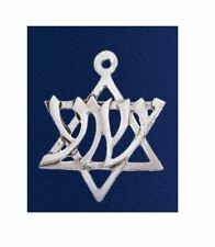 Yeshua Necklace - star of David w/ Yeshua Hebrew letters, Messianic Jewish
