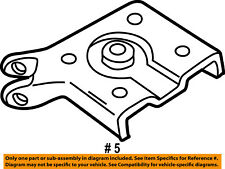 FORD OEM Rear Suspension-Mount Plate Right F57Z5798AD