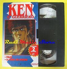 film VHS cartonata KEN IL GUERRIERO 6 Pirati La terra dei demoni (F37) no dvd