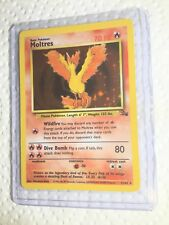 Moltres - 12/62 - Fossil - Holo - Pokemon Card - Exc/Near Mint