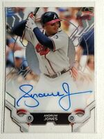 2019 Topps High Tek Andruw Jones Autograph Auto Card Braves, Yankees Signed