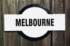 Melbourne Footy Sign, House, Garage, Bar, Club Cafe Nameplate Man Cave Gift