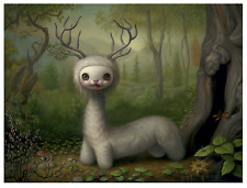 * WOW! MARK RYDEN YOSHI NUMBERED EDITION LITHO POSTER * SIGNED * TREE SHOW *