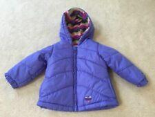 Intant girls size 12 months London Fog purple winter coat jacket